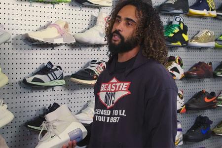 Jerry Lorenzo Hits Flight Club LA for Some 'Sneaker Shopping'