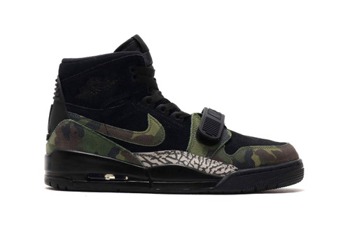 0a2589d29d9e The Jordan Legacy 312 Turns Heads With a Camo   Elephant Print Makeover