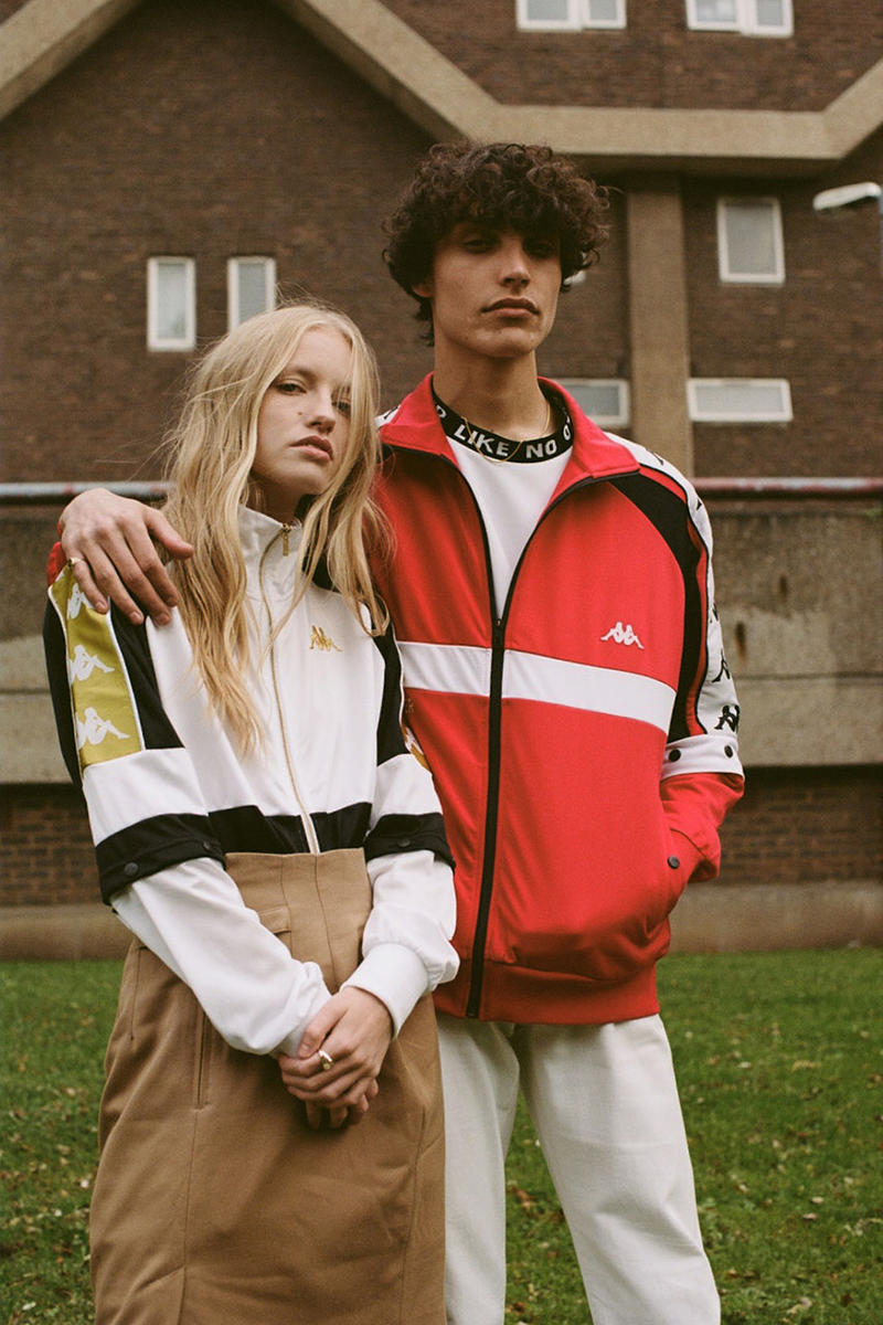 Kappa spring 2019 men women wear collection track suit 70s omni logo juventus lookbook collection release date info february 2019