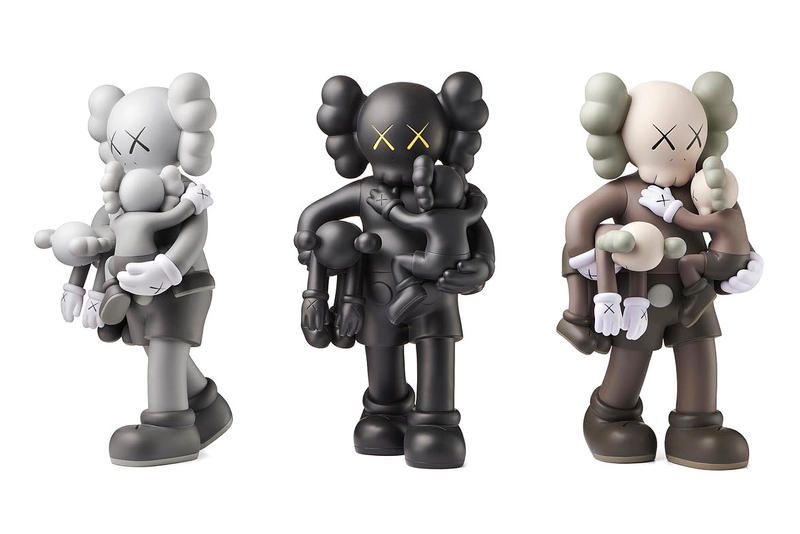 "KAWS' ""CLEAN SLATE"" Companion Re-Release collectables"