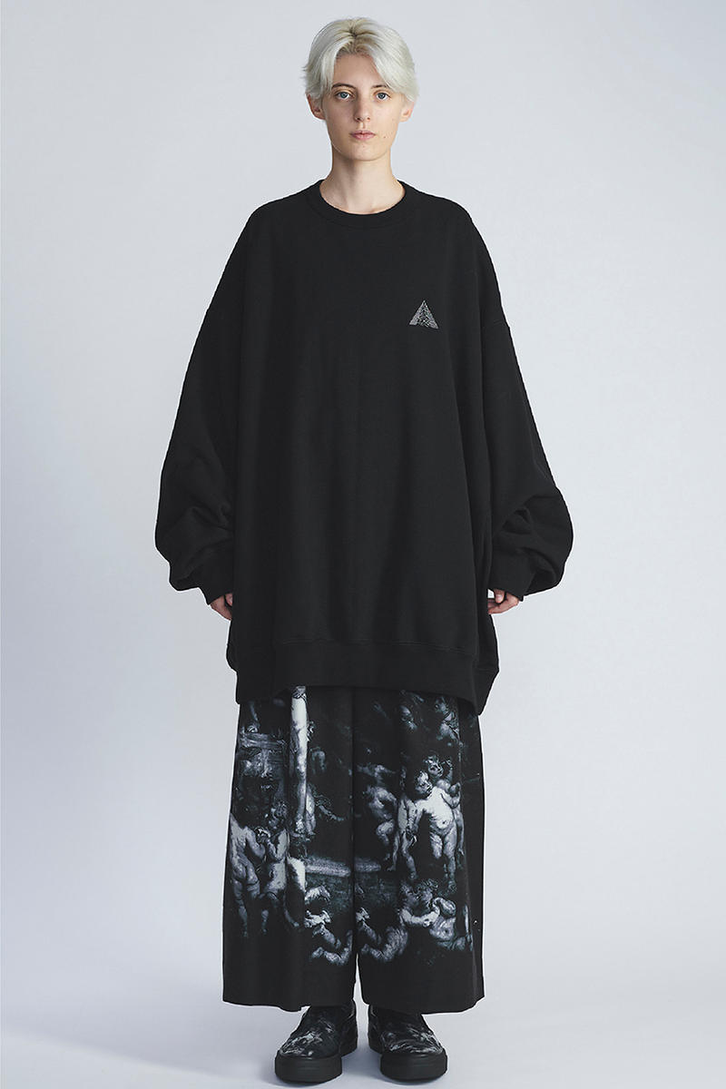 Lad Musician spring summer 2019 collection lookbook paint francisco meilino christopher wool joy division