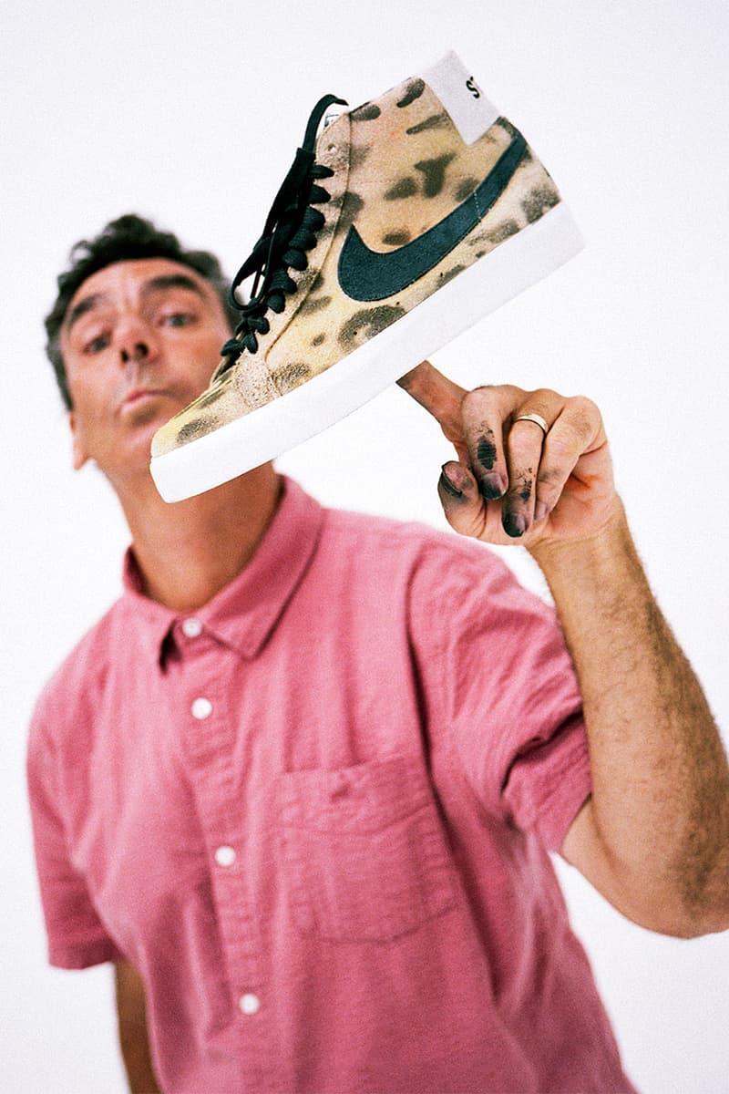 cheap for discount abac3 071f1 Stüssy x Nike SB Blazer Collab Revealed | HYPEBEAST