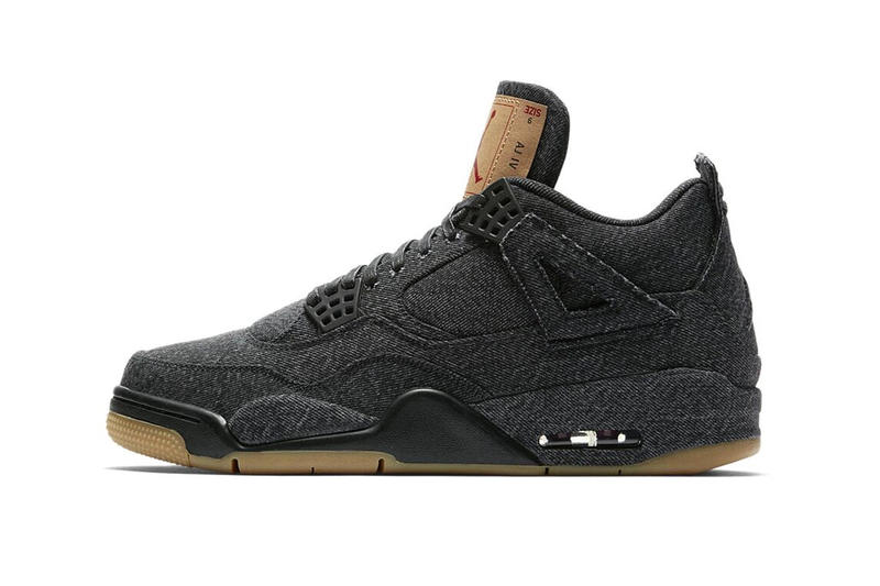 "Levi's® x Air Jordan 4 ""Black"" Giveaway"