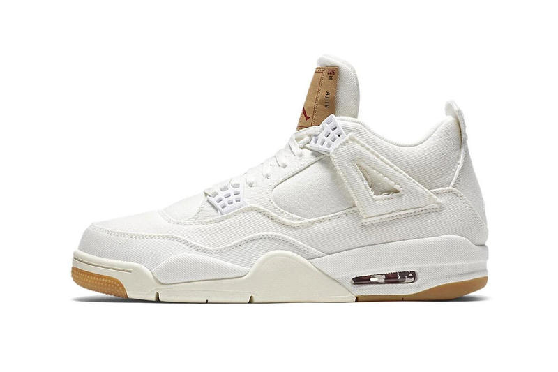 levis air jordan 4 white giveaway