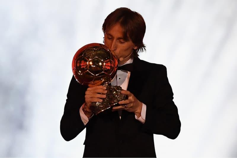 Luka Modric Wins 2018 Ballon d'Or football soccer fifa cristiano ronaldo lionel messi
