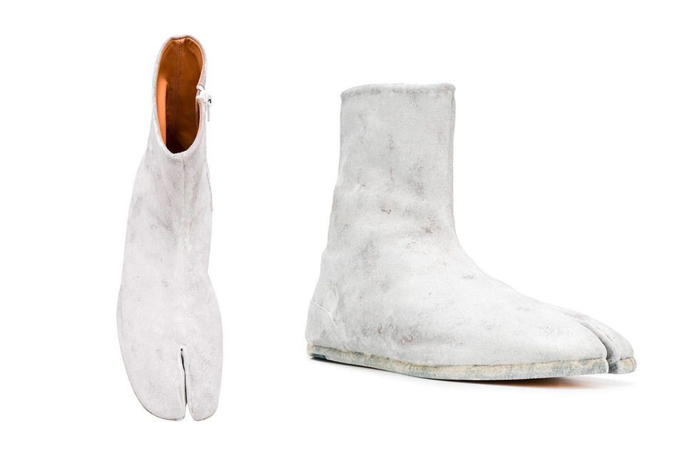 9482f1af987 Maison Margiela Painted Side-Zip Tabi Boot | HYPEBEAST