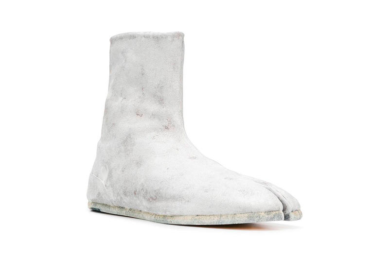 Maison Margiela Painted Side-Zip Tabi Boot Release Date Info White Leather mens