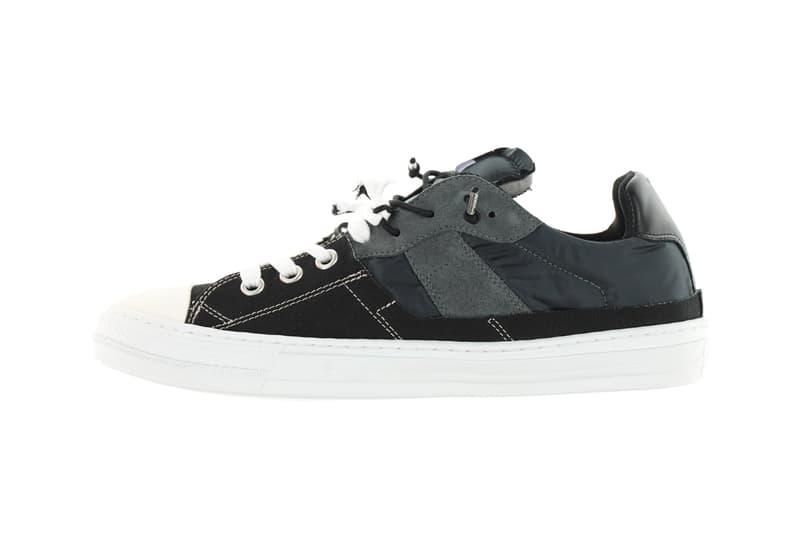 Maison Margiela Repaired New Sneaker Info MMM Antwerp design deconstructed sneakers trainers kicks converse nylon
