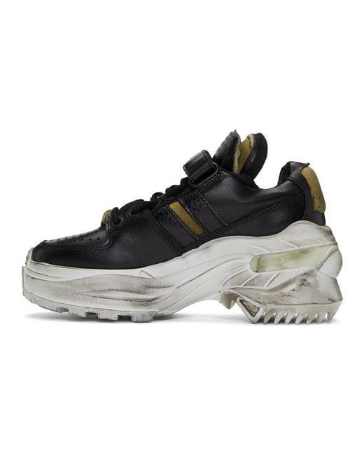 margiela distressed sneaker