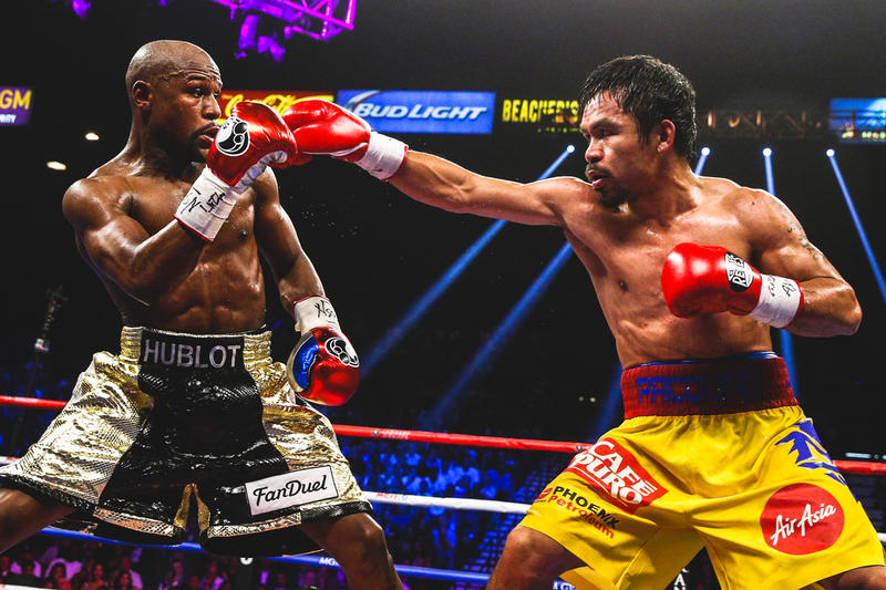 Manny Pacquiao Still Wants a Floyd Mayweather Rematch boxing sports