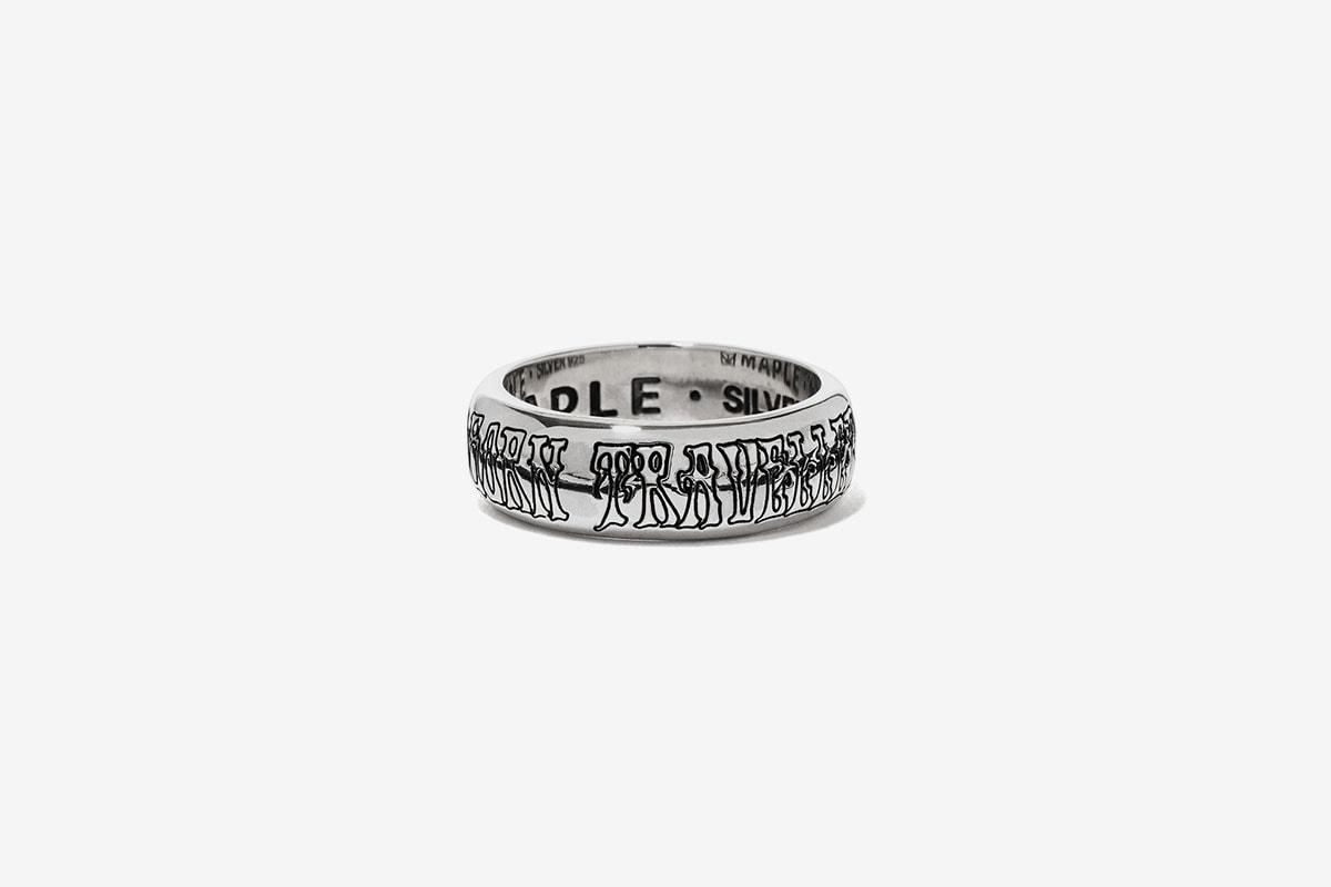 MAPLE BEAMS Japan jewelry Jewellery Collection Release Date bracelets rings Lookbook Info