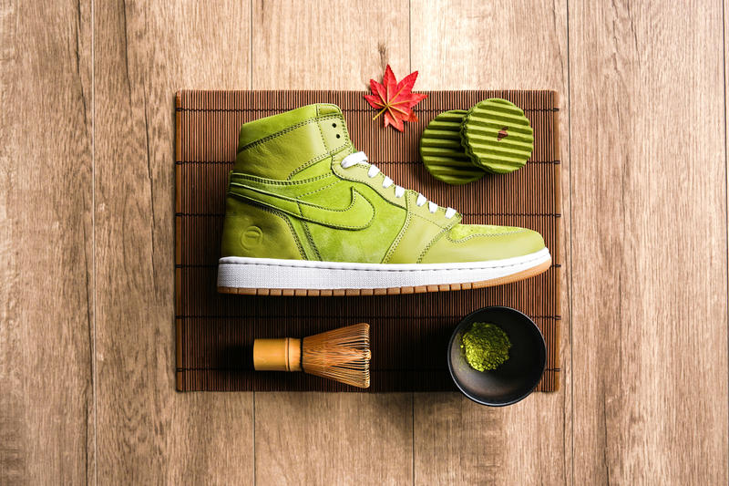 Custom Air Jordan 1 Matcha Chase Shiel