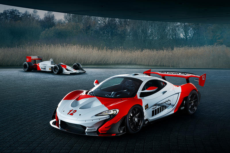 McLaren P1 GTR Ayrton Senna 30th Anniversary Car Marlboro Race Car MP4/4
