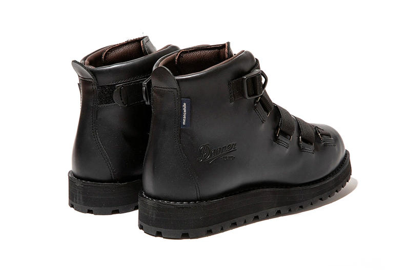 Meanswhile x Danner Mountain Light Boot Info footwear outdoors japan Tokyo Japanese buckles leather USA American