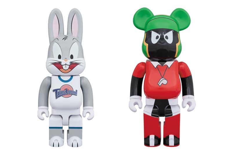Medicom Toy Space Jam Anniversary Bearbrick Release
