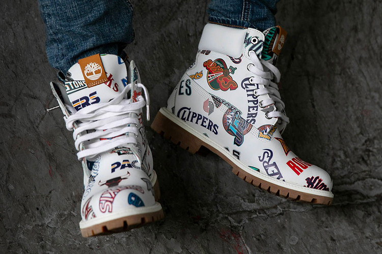 f2cabf764daec Timberland Joins Mitchell   Ness To Release NBA-Inspired 6-Inch Boots