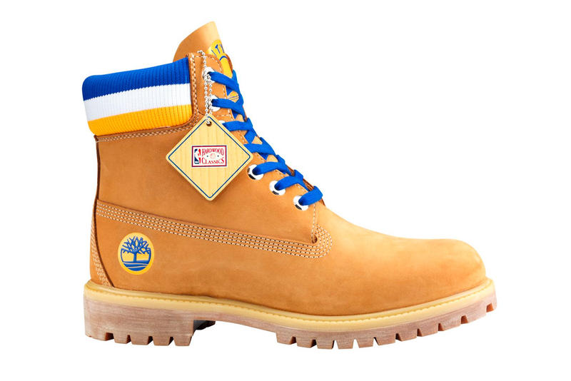 Mitchell & Ness x Timberland NBA 6-Inch Boots collection release date info price wheat black white logo varsity jacket collaboration chicago bulls golden state warriors