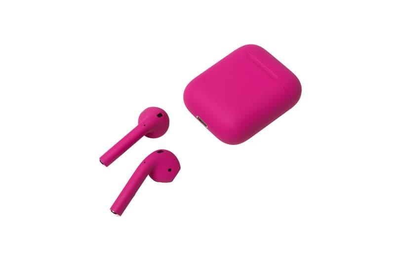 Custom Made ColorWare Airpods Giveaway Iphone headphones wirelesss