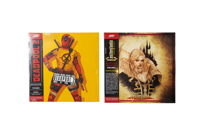 Deadpool 2 Castlevania playstation 2 movie soundtrack Mondo advent calendar