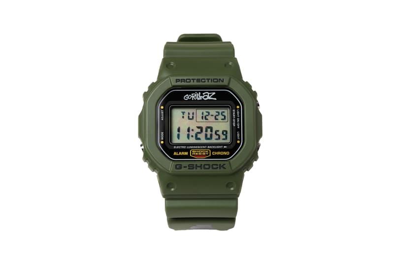 Gorillaz G-Shock Watch 2D Murdoc Niccals Noodle Russel Hobbs advent calendar