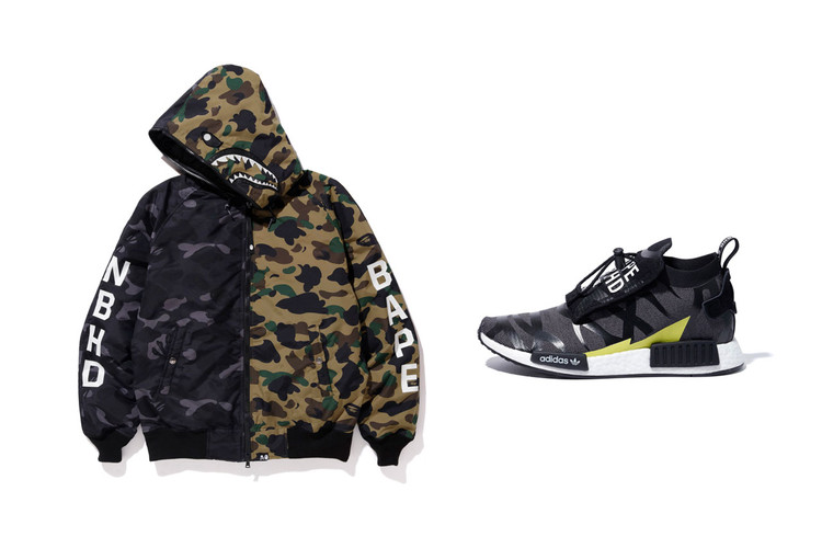 8849485c3e58c A Complete Look at the BAPE x NEIGHBORHOOD x adidas Originals Collaboration