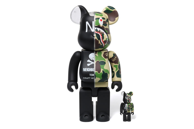 BAPE x NBHD x adidas Entire Collab Collection full every item sneakers shoes clothing bearbricks medicom toy incense chambers 2019 january 2 hoods NHBAPE NMD STLT s-3.1 100 400