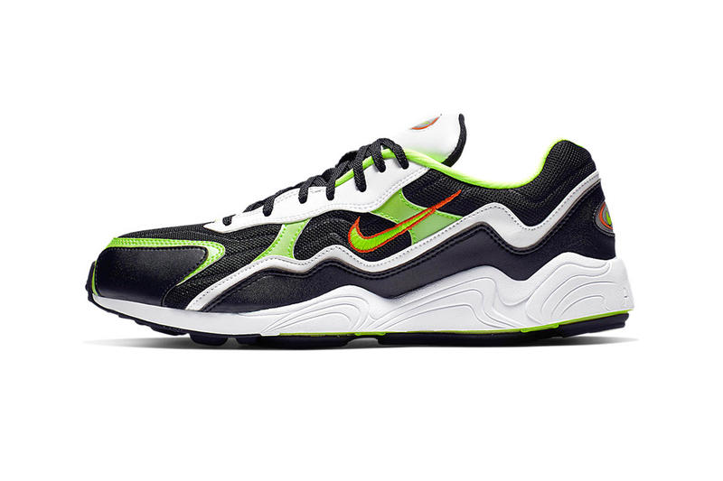 sale retailer 5ad62 32cbc Nike Zoom Alpha Release Info Date Black White Orange Volt