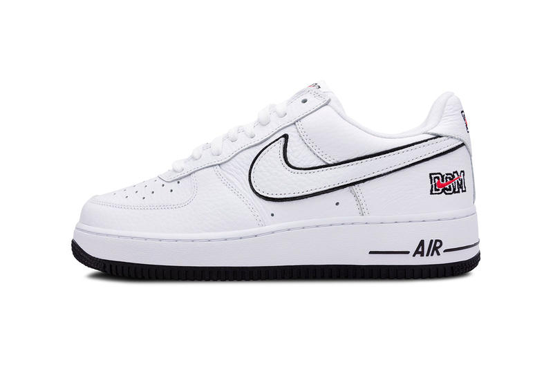 nike air force 1 low dsm release date 2018 december nike sportswear footwear dover street market new york white black red