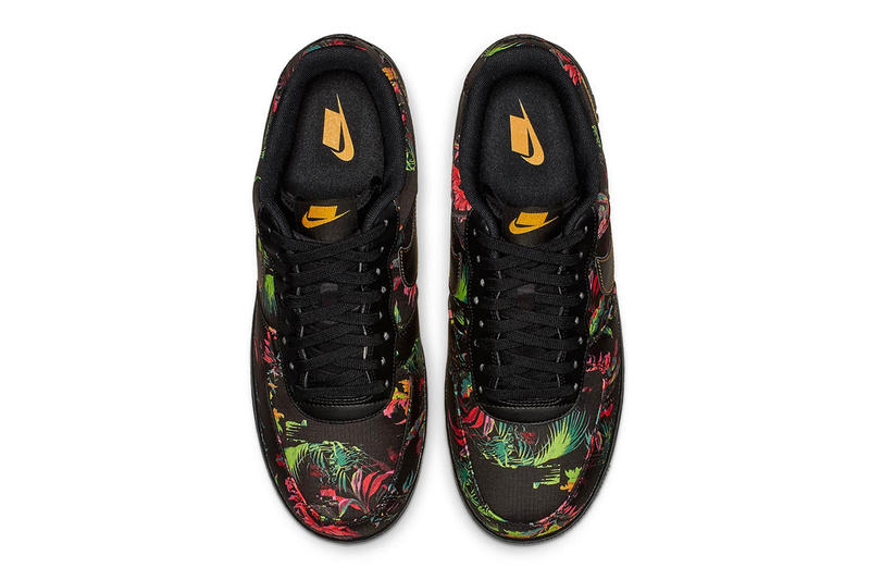 Nike Air Force 1 Low Floral Print Release Date multi color sneaker colorway january 2019 price info model men's women's size purchase online