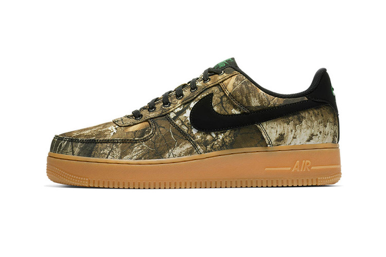 the latest 555a9 9fbfe Nike s Air Force 1 Realtree Camo Pack Receives a Release Date