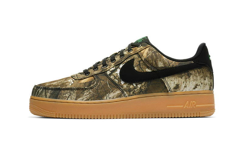 promo code a9fae b7518 Nike Air Force 1 Realtree Camo Pack Release Date Info Official look White  orange brown gum