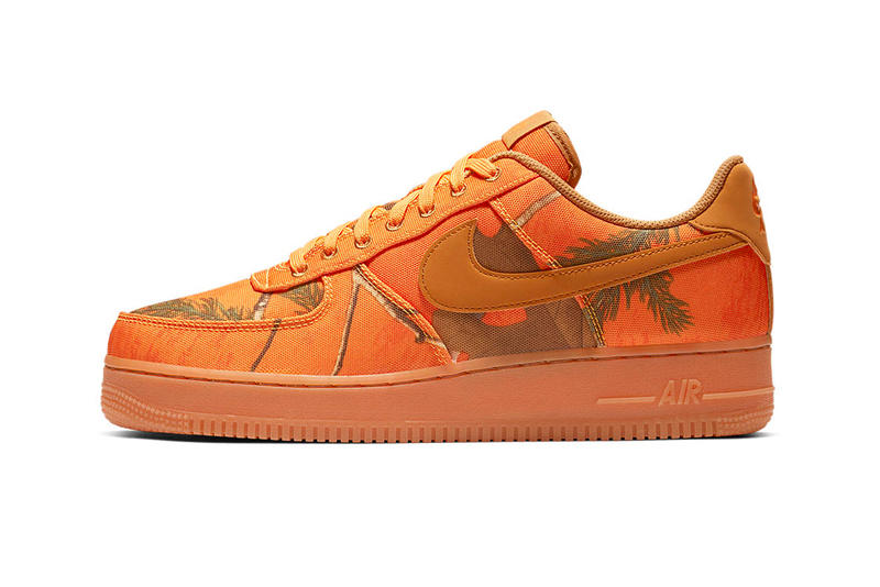 Nike Air Force 1 Realtree Camo Pack Release Date Info Official look White orange brown gum sole Low