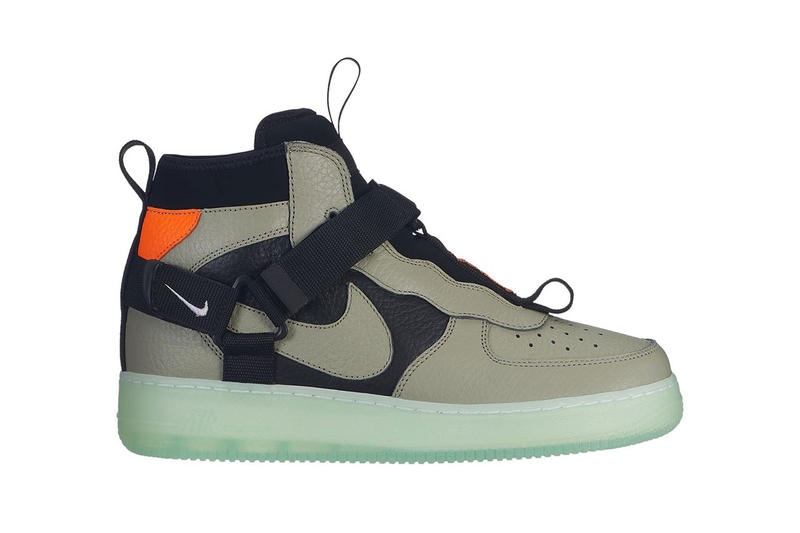 brand new ebabc 40024 Nike Air Force 1 Utility Mid Strap First Look | HYPEBEAST