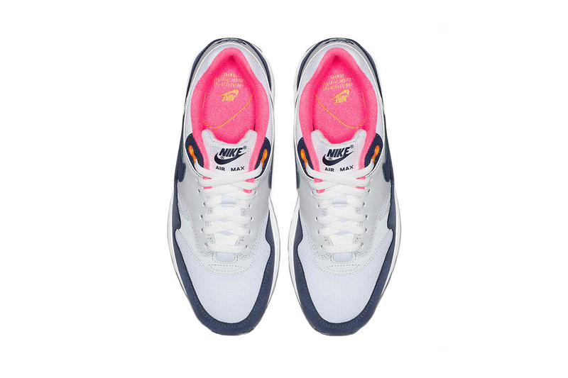 nike air max 1 white midnight navy pure platinum 2018 december footwear nike sportswear