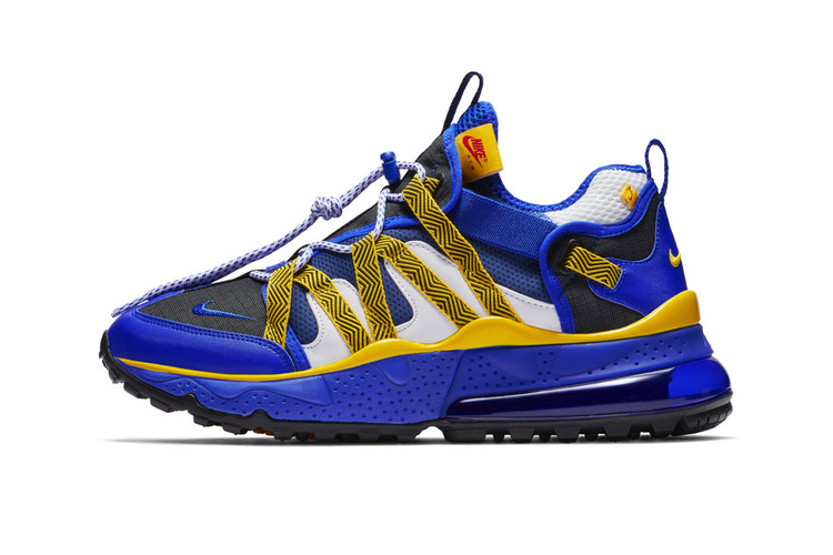 b821d63133 Nike's Air Max 270 Bowfin Gets Emboldened in Blue & Yellow