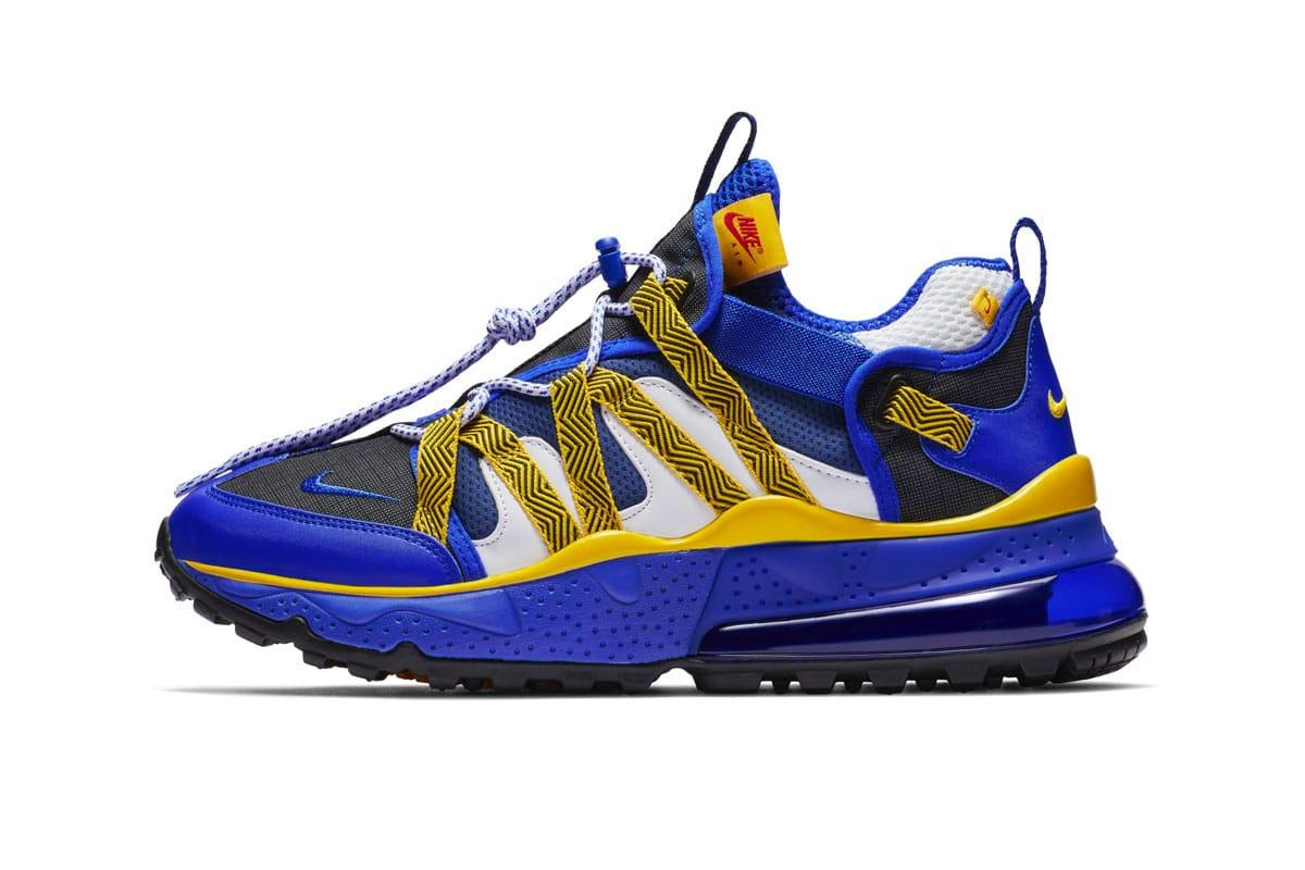Nike Air Max 270 Bowfin Blue/Yellow