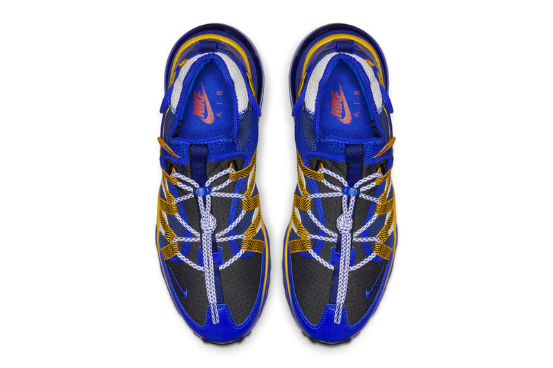 Nike Air Max 270 Bowfin Blue/Yellow Colorway release date info price sneaker size purchase online 2018 drop