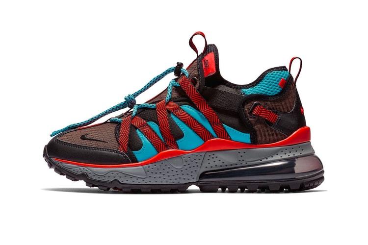 promo code ecdb3 88181 Nike Air Max 270 Bowfin Steps Out in Red   Aqua Hues