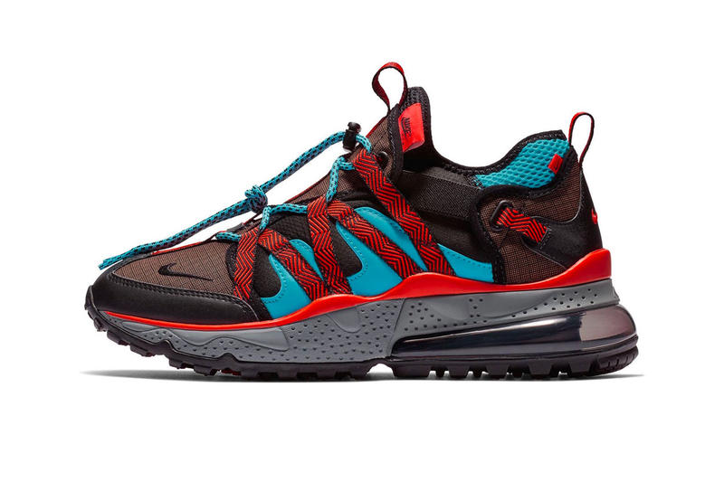 innovative design a0243 9381f Nike Air Max 270 Bowfin Red Aqua Black Colorway release date info price  sneaker