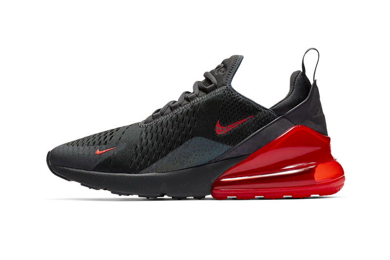 Nike Air Max 270 Reflective Black Red Release Info Date