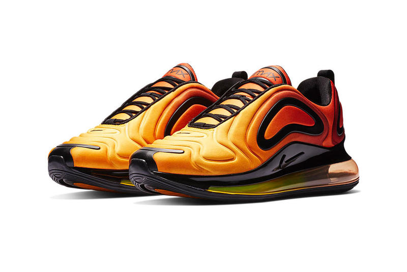 Nike Air Max 720 Gradient Colorways 2019 Release Info Date Blue Aqua Brown Beige Silver Sunset Orange Yellow