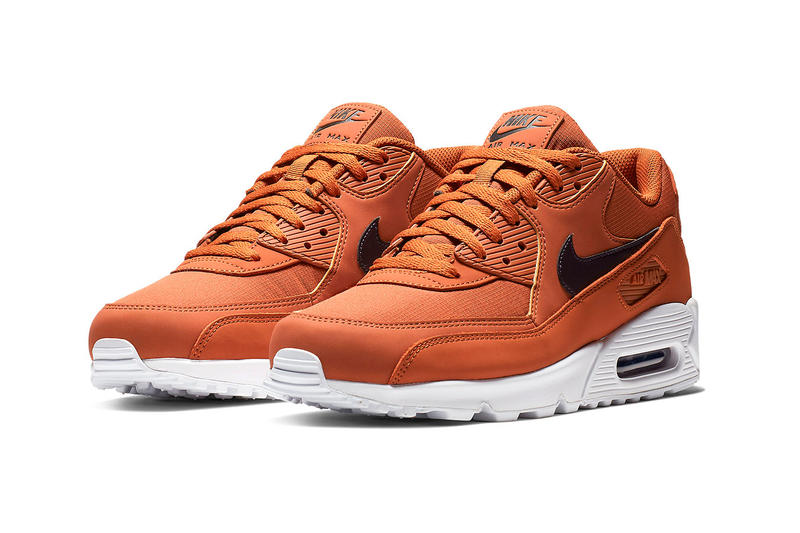 "007ab97236 Nike Air Max 90 ""Dark Russet"" Release swoosh black brown earth white bubble  unit"