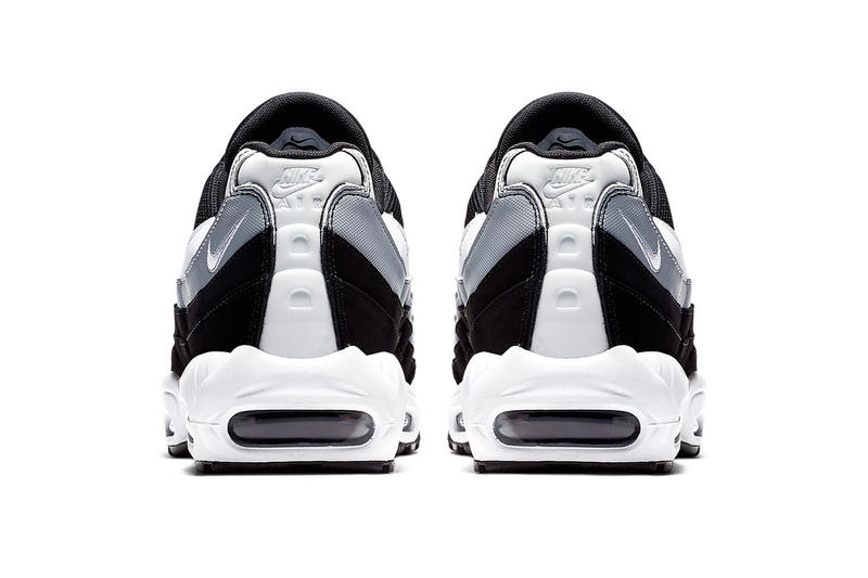 Nike Air Max 95 Black/Wolf Grey/White Release essentials swoosh
