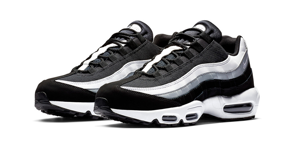 hot sale online 57edd 48338 Nike Air Max 95 Black/Wolf Grey/White Release | HYPEBEAST