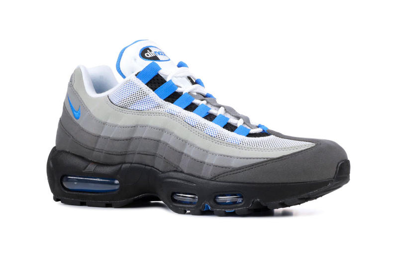 sports shoes 2ca0d 920eb Nike Air Max 95 Crystal Blue Re Release White Crystal Blue 2019 Info Date