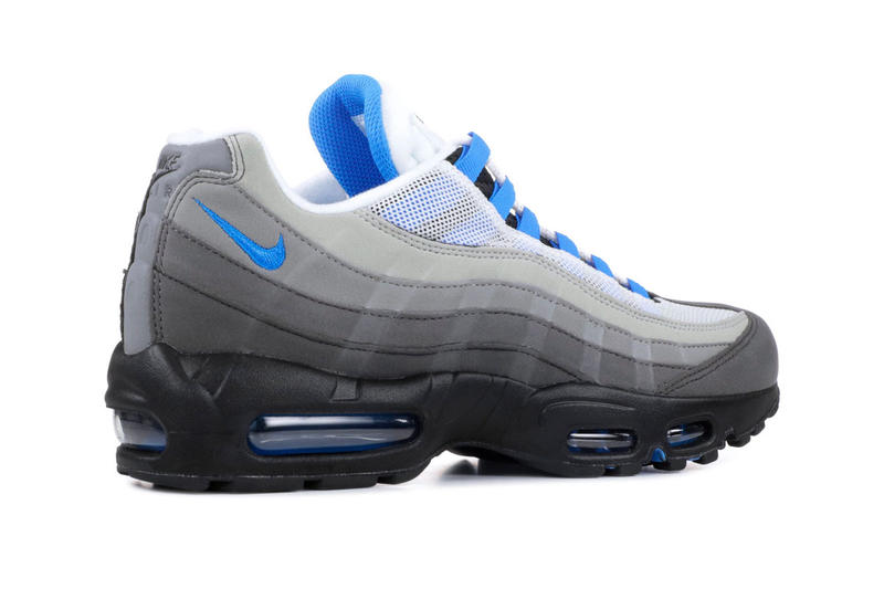 Nike Air Max 95 Crystal Blue Re Release White Crystal Blue 2019 Info Date 51b550d61f94