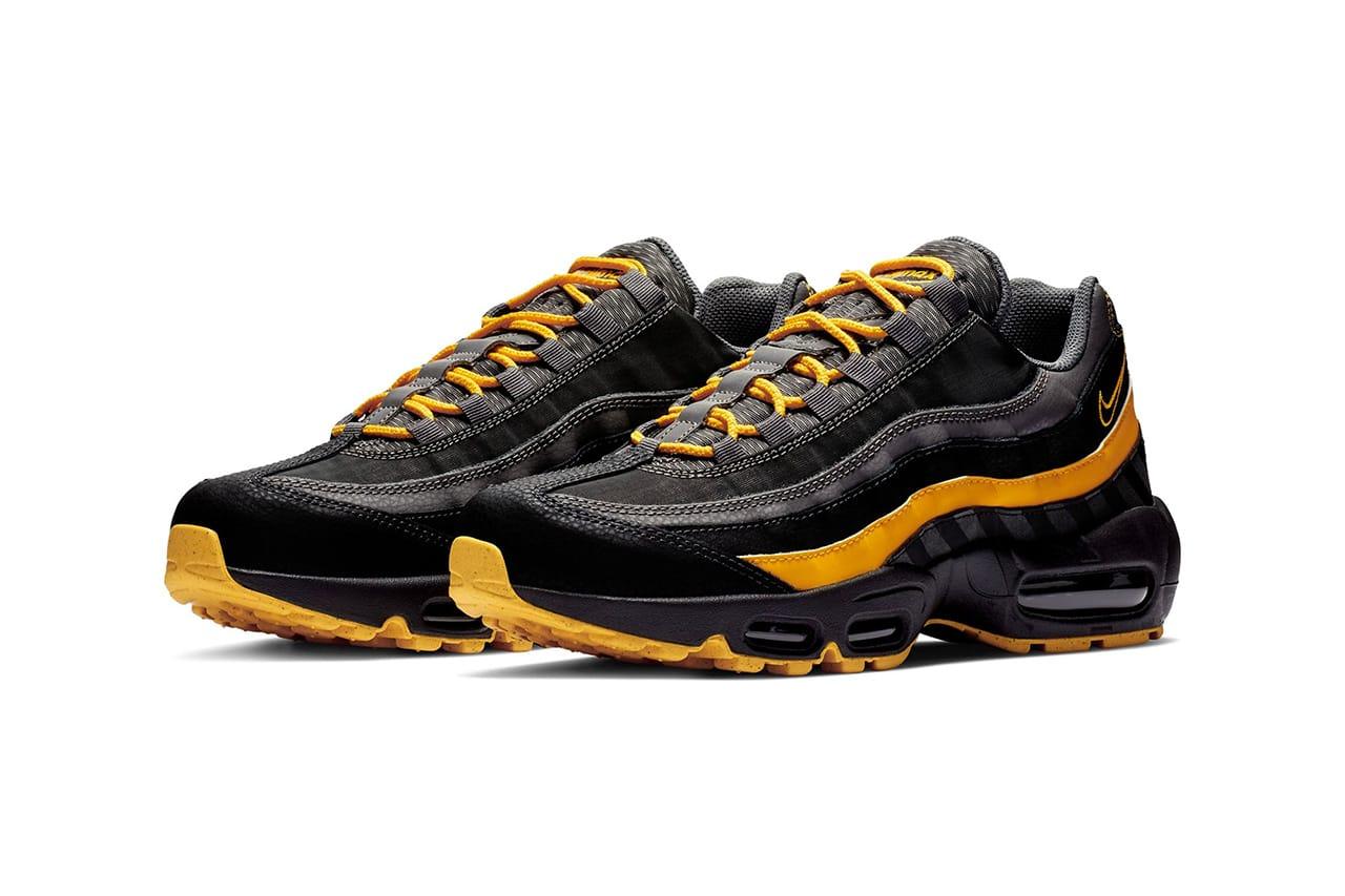 air max 95 black yellow