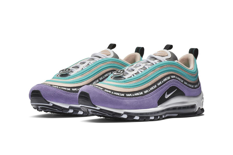 Nike Air Max 97 'Have a Nike Day' Pack Closer Look Sneakers Trainers Kicks Footwear Shoes Cop Purchase Buy