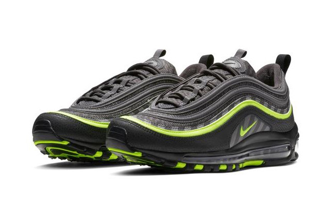 air max 97 black neon green