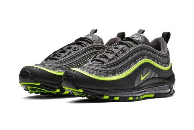 Nike Air Max 97 Thunder Grey Lime Blast